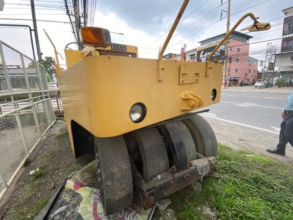รถบดล้อยาง 9 ล้อ Sakai Ts7409  - Truck2Hand.com