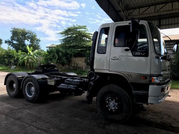 ขายหัวลาก HINO FM1J (สมอทอง) 260แรงม้า ปี46 เก็บสีแล้ว พร้อมใช้งาน - Truck2Hand.com